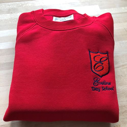 Eveline Red Sweatshirt