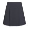 Navy pleated senior school skirt