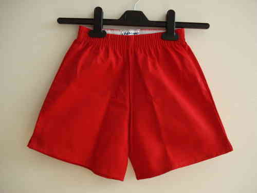 Eveline Red Sports Shorts