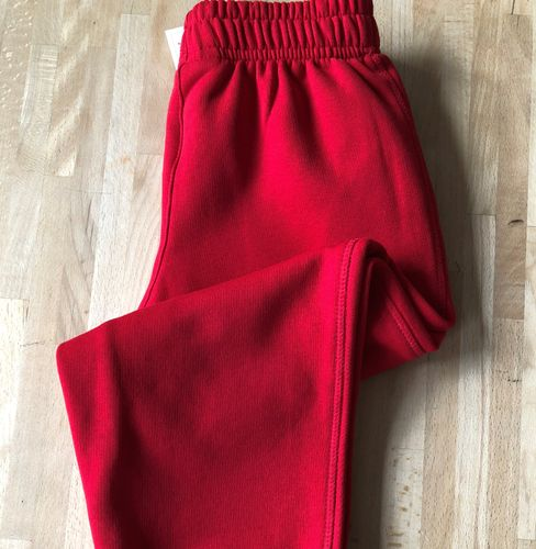 Red Jog Pants