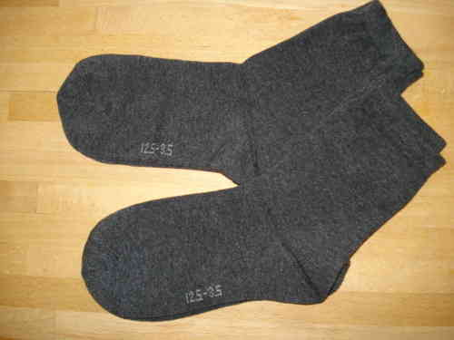 Cotton Rich Ankle Socks GREY FIVE PACK